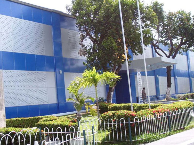 Front Elevation Cladding : Projects fortune building material supplies corporation